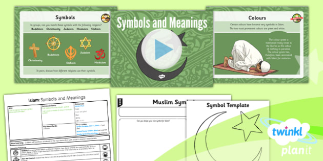 re islam muslim symbols
