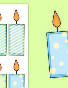 Editable birthday candles also celebration birthdays rh twinkl