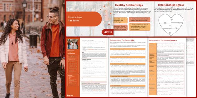Secondary PSHE: Relationships: The Basics Lesson Pack