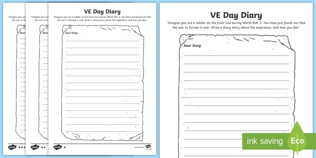 Diary writing frame ks3 for Diary writing template ks1