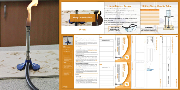 Y7 Introduction to Science Lesson 3: Using a Bunsen Burner