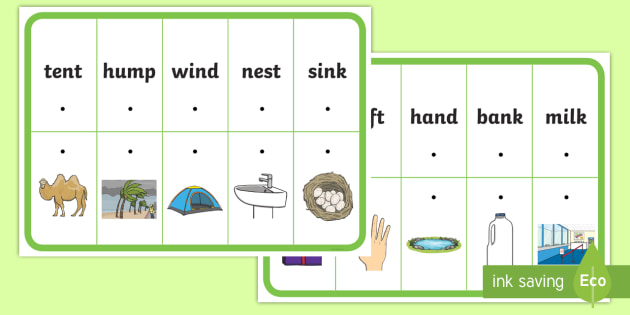 * New * Phase 4 Cvcc And Ccvc Matching Threading Cards  Phonics, Blends