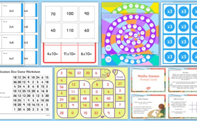 Free Times Table Games Teacher Made