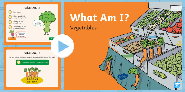 * New * Carrot Club What Am I? Powerpoint  Originals, Fiction, Ks1, Healthy