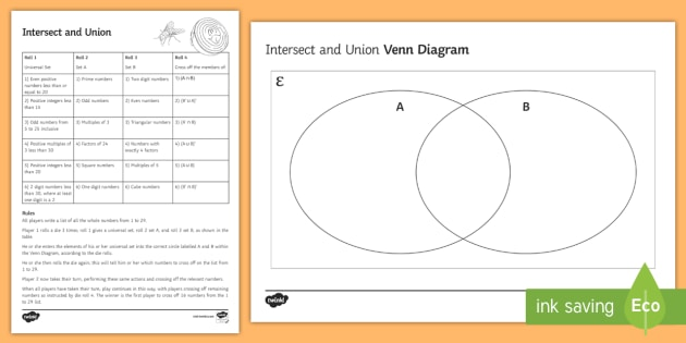 how to find the intersection in a venn diagram crossover wiring car audio intersect and union game diagrams sets