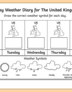 day weather diary for the united kingdom worksheet activity sheet climate also rh twinkl