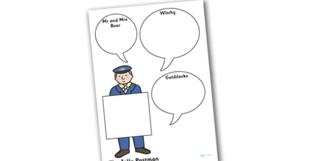 Role on the Wall Worksheet / Activity Sheet to Support