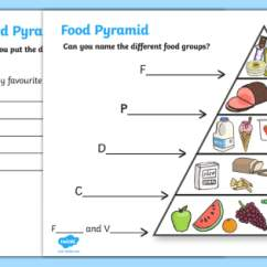 New Food Pyramid Diagram Human Immune System For Kids Writing Activity - Pyramid, Groups