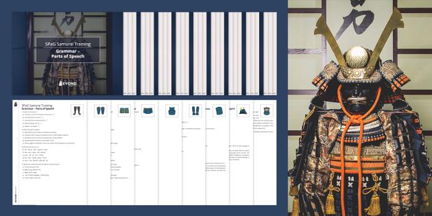 SPaG Samurai: KS3 & GCSE Grammar Worksheets