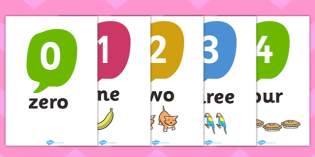 number word posters - April.onthemarch.co