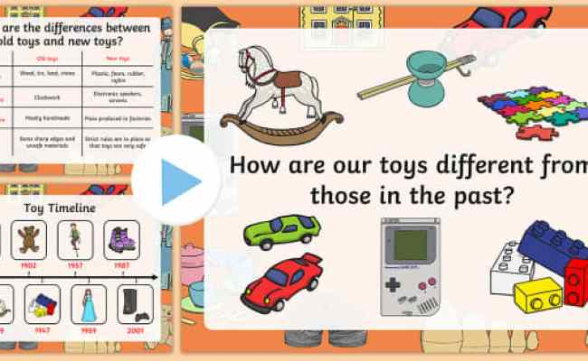 Toys Then And Now Powerpoint Teacher Made