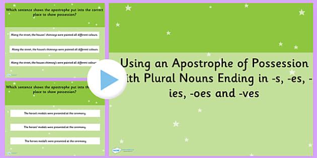 17 Top Apostrophe S Teaching Resources