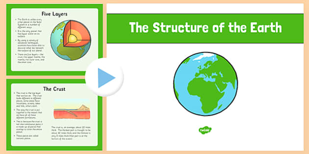 structure of the earth diagram dish tv wiring powerpoint