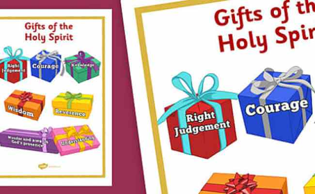 Gifts Of The Holy Spirit Display Posters Gifts Of Holy