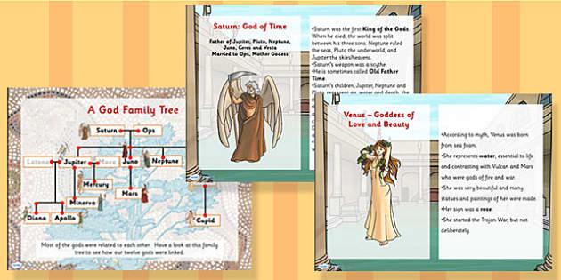Roman Gods Ks2 Powerpoint Teacher Made