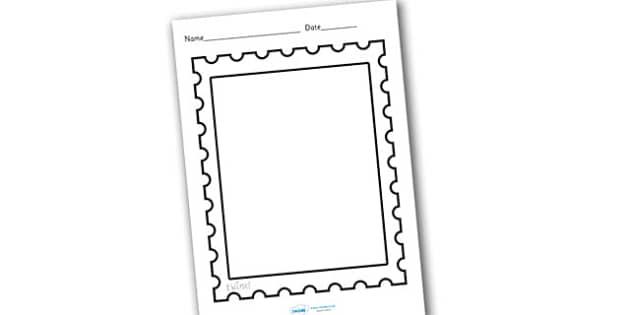 Design a Post Office Stamp (teacher made)