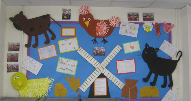 Little Red Hen Display Classroom Display Story Little