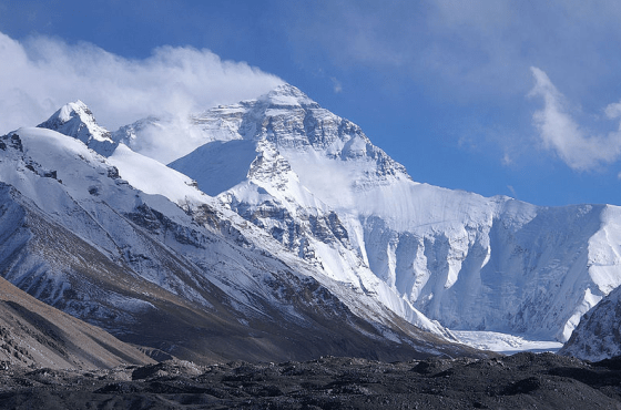 mount everest wikimedia commons credit: Rupert Taylor-Price