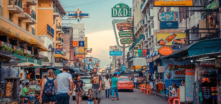 曼谷考山路Khao San Road最強游玩攻略-泰游趣