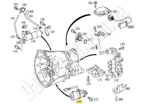 Масляный насос Sprintshift Mercedes-Benz Sprinter CDI/ VW