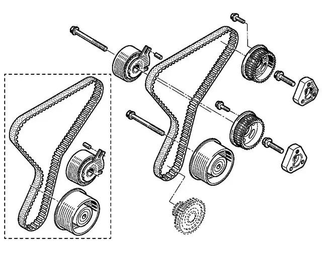 Запчасти на микроавтобусы: Ремни ГРМ. «Auto-Mechanic