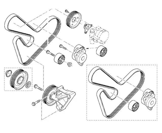 Запчасти на микроавтобусы: Ремни генератора. «Auto