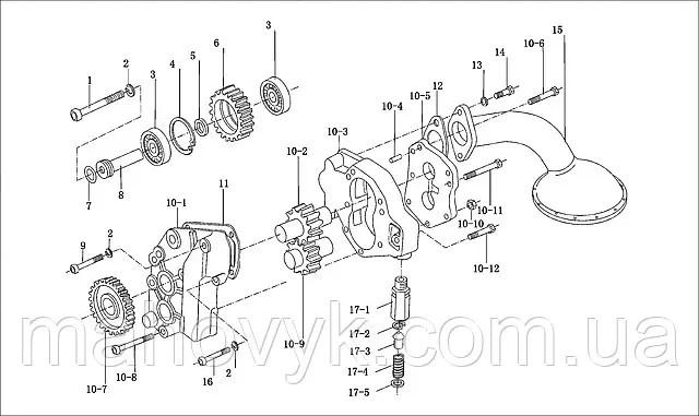 WD-615 Каталог запчастей двигателя. Фотогалерея компании