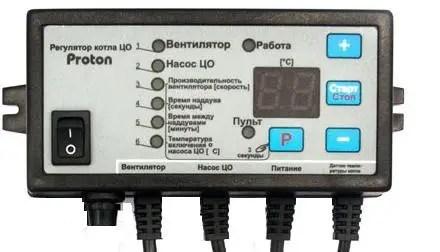Блок управления Протон (автоматика для твердотопливного котла Prond Proton)