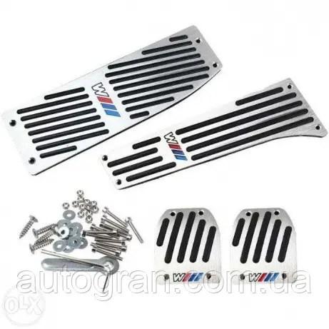 Накладки на педали BMW E36 E38 E39 E46 E84 E87 E90 E91 E92