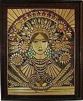 Картина з соломи «Дари України», зайняла перше місце на Всеукраїнському конкурсі 2012 р.