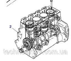 Купить Двигатель Perkins 1004.4 в сборе без навесного для