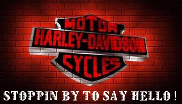 Naughty Wallpapers With Quotes Stoppin By To Say Hello Harley Davidson Bikers Graphics