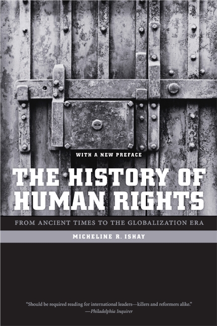 The History of Human Rights by Micheline Ishay  Paperback