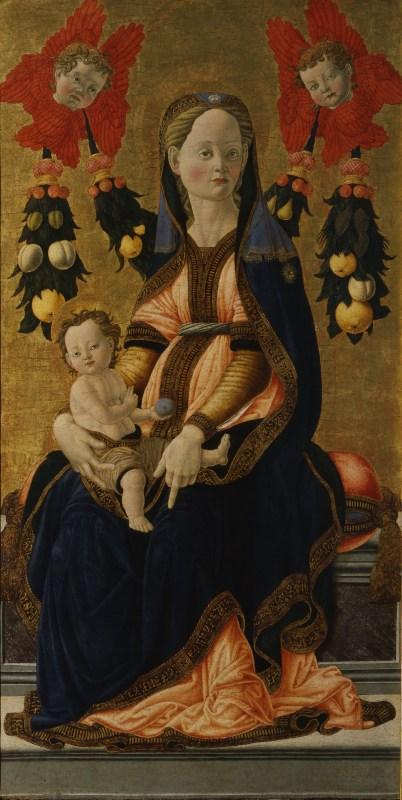 Madonna col Bambino  Opere  Le Gallerie degli Uffizi