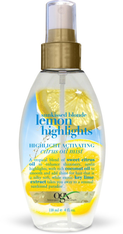 sunkissed blonde lemon highlights