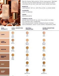 Find the perfect shade of estee lauder   double wear nude water fresh makeup broad spectrum spf also online only rh ulta