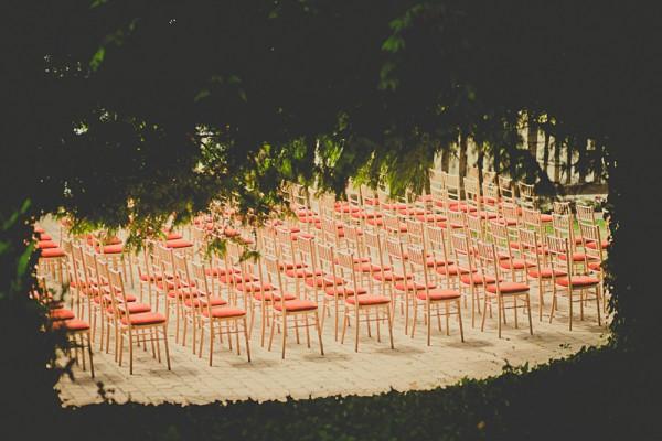 decoración boda en el jardín