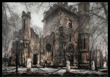castle lovecraft gothic dark horror castles uncyclopedia scary wikia phillips horribly immemorial weathered basalt howard birth times place which deviantart