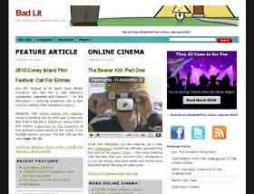 Underground Film Journal homepage 2010 version
