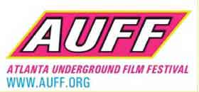 Text logo for the Atlanta Underground Film Festival