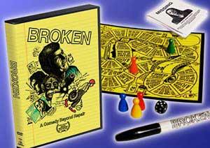 Broken with board game