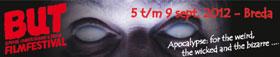 B-Movie Underground and Trash Film Festival logo with monster eyes
