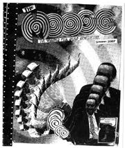 Moose newsletter cover for Winnipeg Film Group