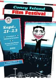 2012 Coney Island Film Festival poster
