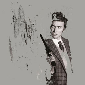 Clint Eastwood in Dirty Harry erased image