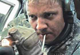 Jeremy Renner in The Hurt Locker