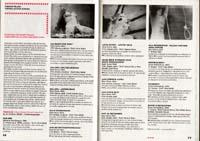Film festival program scan featuring work of Kurt Kren