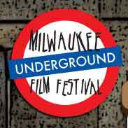 Underground film festival poster that looks like a London Underground sign