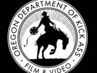 Cowboy logo for the Oregon Department of Kick Ass