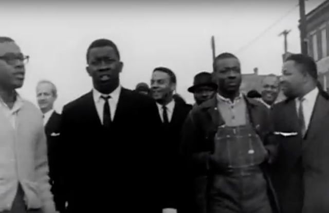 Civil rights march in Selma, Alabama